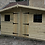 Thumbnail: 13'X10' FULLY TANALISED 13mm T&G SHIPLAP summerhouse LEAD PATTERNED GLASS