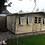 Thumbnail: 20'x10' Tanalised 19mm t&g loglap heavy duty DELUXE summerhouse reverse apex