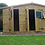 Thumbnail: 16'x12' Tanalised 19mm t&g Shiplap Shed Reverse Apex Inc Extra Height/MULTIROOM