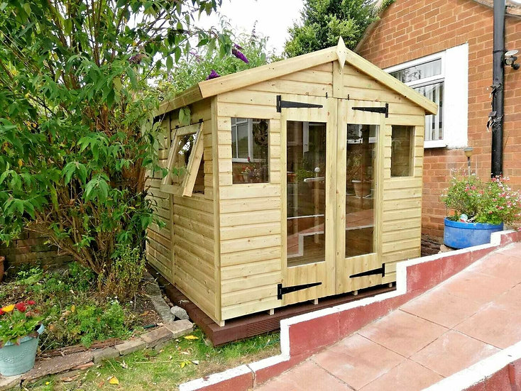 8'x8' FULLY TANALISED 19mm t&g SHIPLAP Summerhouse
