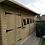 "Thumbnail: 20'x8' Tanalised 19mm t&g loglap heavy duty summerhouse PENT inc 18"" canopy"