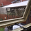 "Thumbnail: 12'x7' Tanalised 19mm t&g loglap heavy duty shed reverse apex inc 12"" canopy"