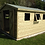 Thumbnail: 15'x10' Tanalised 19mm t&g shiplap shed heavy duty apex roof+1 x opening window