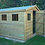Thumbnail: 12'x10' FULLY TANALISED 19mm t&g shiplap shed apex roof + 5 FRAMED windows