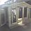 Thumbnail: 12'x5' FULLY TANALISED 19mm t&g loglap reverse apex summerhouse/sun room