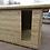 "Thumbnail: 10' x 10' Tanalised 19mm t&g loglap summerhouse inc 18"" canopy/Toughened Glass"