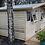 "Thumbnail: 14'x10' Tanalised 19mm t&g Loglap Summerhouse reverse apex+18"" canopy+2 openers"