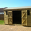 Thumbnail: 10'x8' FULLY TANALISED 13mm t&g Shiplap shed Reverse Apex/all sizes available