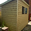 Thumbnail: 8' x 6' TANALISED 19mm T&G shiplap HEAVY duty shed pent roof