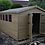 Thumbnail: 14'x10' Tanalised 19mm t&g shiplap heavy duty shed Apex Roof/double doors