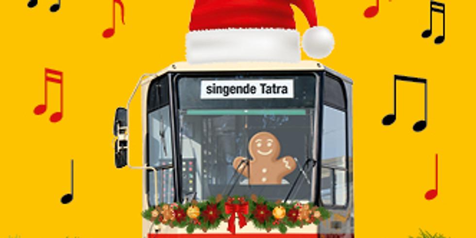Leichtfuß & Liederliesel in der Singenden Straßenbahn
