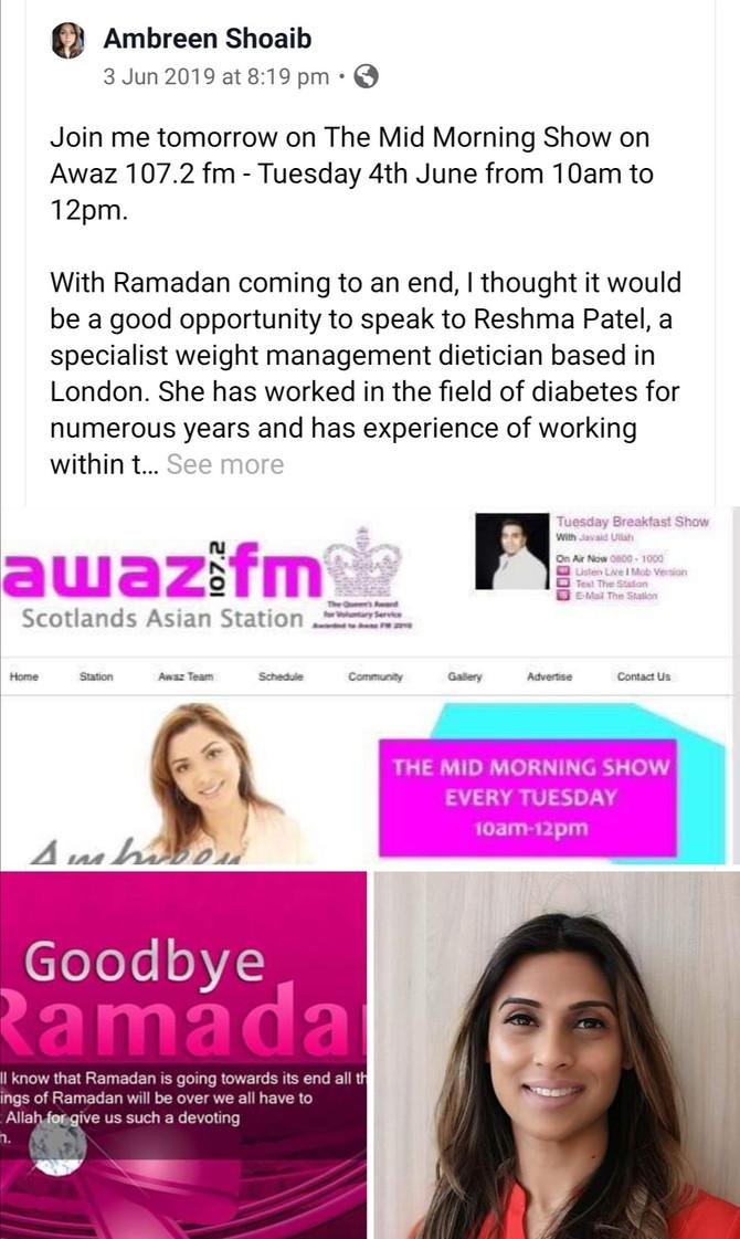 Healthy Eating Post Ramadan