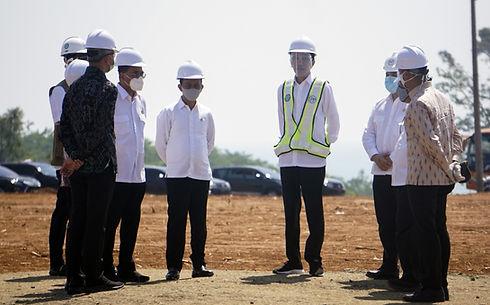 Kunjungan Presiden RI Jokowi ke Batang.j