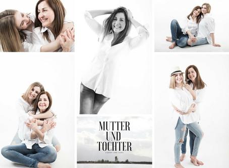 Mutter und Tochter Shooting