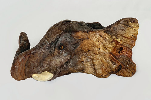 #104 Elephant Head (Small) $175.00