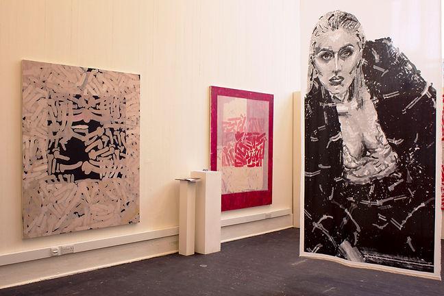 Reb T, the real reb t, 2019: ECA Degree show (Group Exhibition) Edinburgh college of art, Edinburgh, view 1