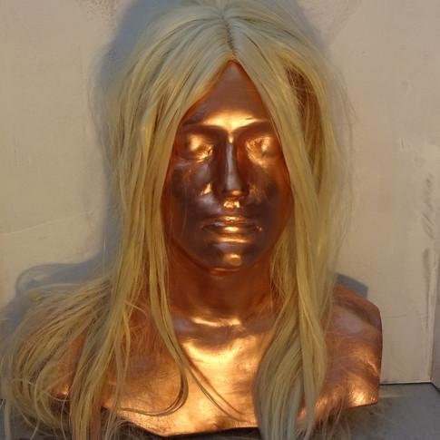 Spray Tan + Blonde