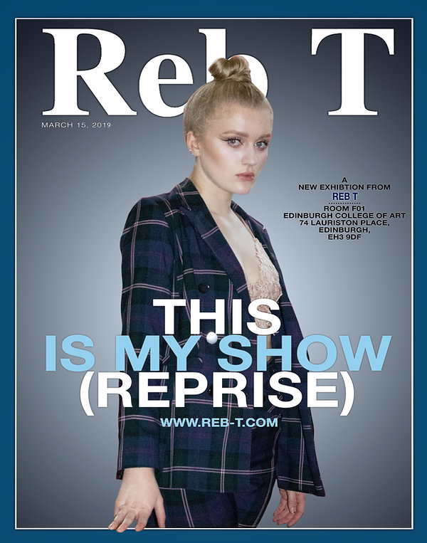 reb t artist, this is my sho (reprise), poster, forbes magazine, kylie jenner, edinburgh college of art