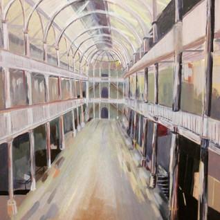 National Museum of Scotland, 2015 Acrylic on Board 40 x 40cm