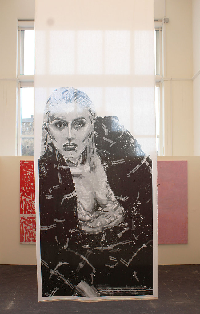 Reb T, the real reb t, 2019: ECA Degree show (Group Exhibition) Edinburgh college of art, Edinburgh, view 2