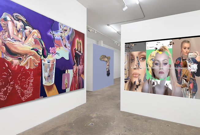 2021: Group Show (Digital exhibition) Shrine, new york city