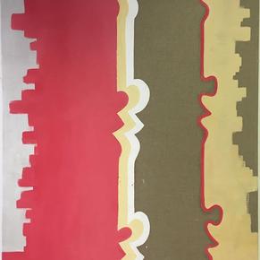 'Raw' Oil on Canvas 110 x 100cm