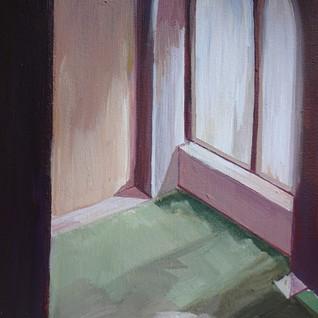 Portrait Gallery, Edinburgh 2015 Acrylic on Canvas