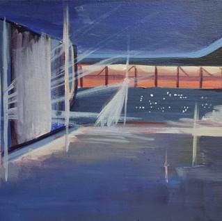 Hampden Stadium Acrylic on Canvas