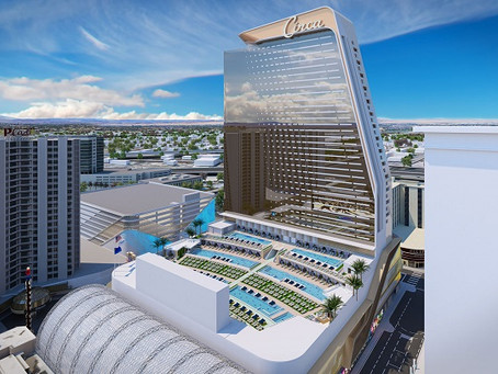 Resort em Las Vegas apresenta projeto de anfiteatro piscina