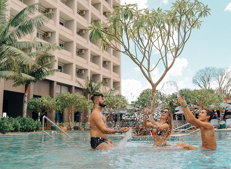 Natal ou Réveillon no Hot Beach Olímpia dá diária cortesia para 2021