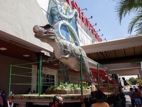 Andradina terá parque temático Park dos Dinossauros