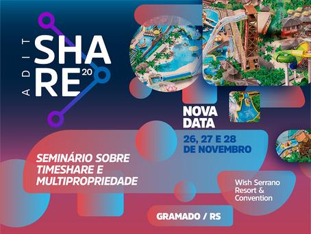 ADIT Share acontece em versão híbrida nos dias 26, 27 e 28 de novembro, em Gramado