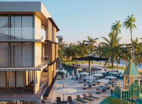 Porto Alto Resort alinha arquitetura moderna e design inovador