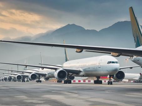 Como deve ser a higienização após viajar de avião?