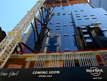 Hard Rock International celebra construção de hotel em Nova York