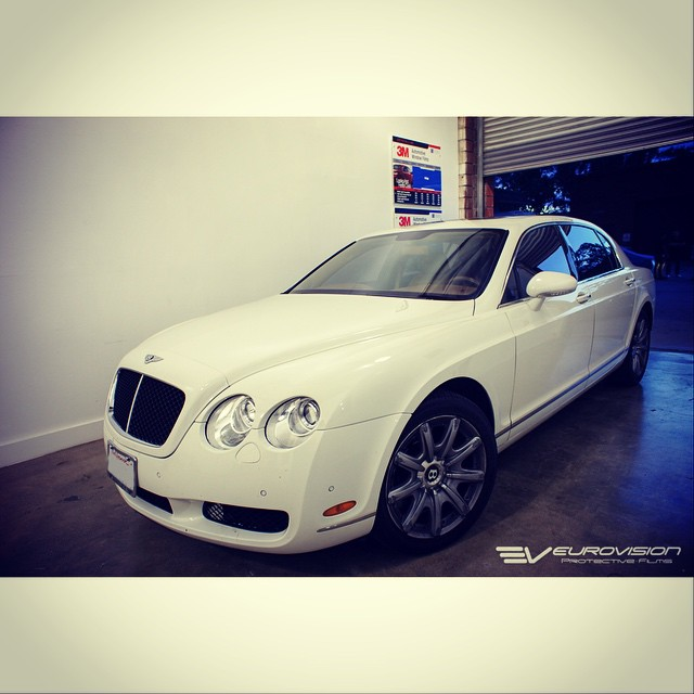Instagram - Happy Monday! Here's a Bentley completely tinted with #3mcrystalline