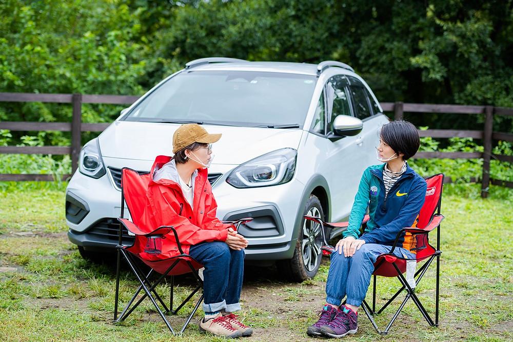 Hondaキャンプ画像