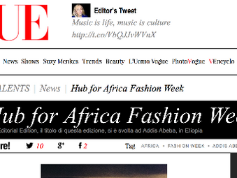 HAFW 2014 gets it Vogue Italy on