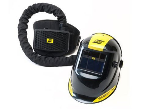 ESAB Warrior Tech Welding Helmet Complete Air Fed System with PAPR Unit