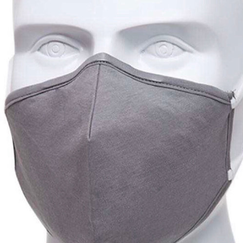 Grey Re-Usable Face Mask