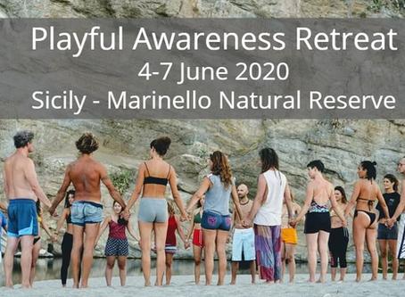Playful Awareness Spiritual Retreat Sicily, Italy - June 2020