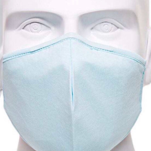 Blue Re-Usable Face Mask