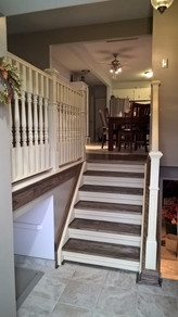 stairs & balustrade