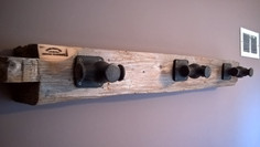 hitching post coat hanger