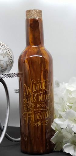 25oz Wine bottle