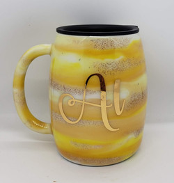 14oz Stainless steel coffee mug w_mica p