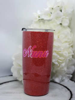 20oz Glitter with dual layer
