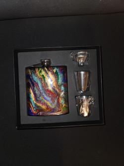 7oz Flask Glitter hatch