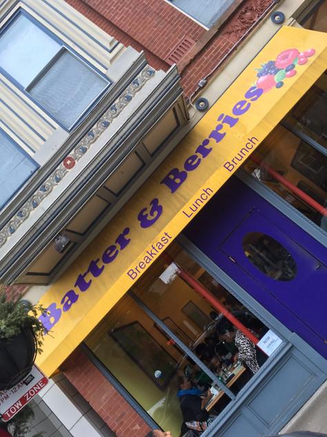 Holiday Brunch in Chicago at Batter & Berries