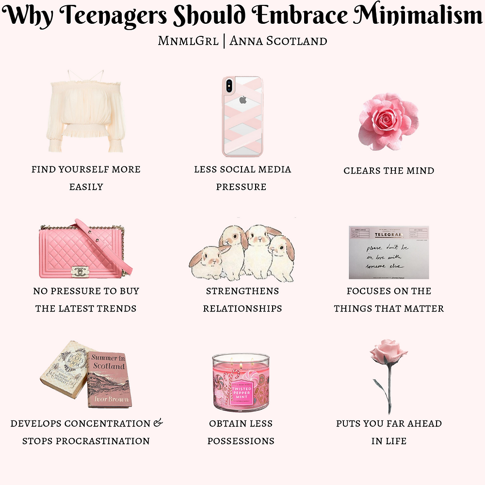 why teenagers should become minimalists